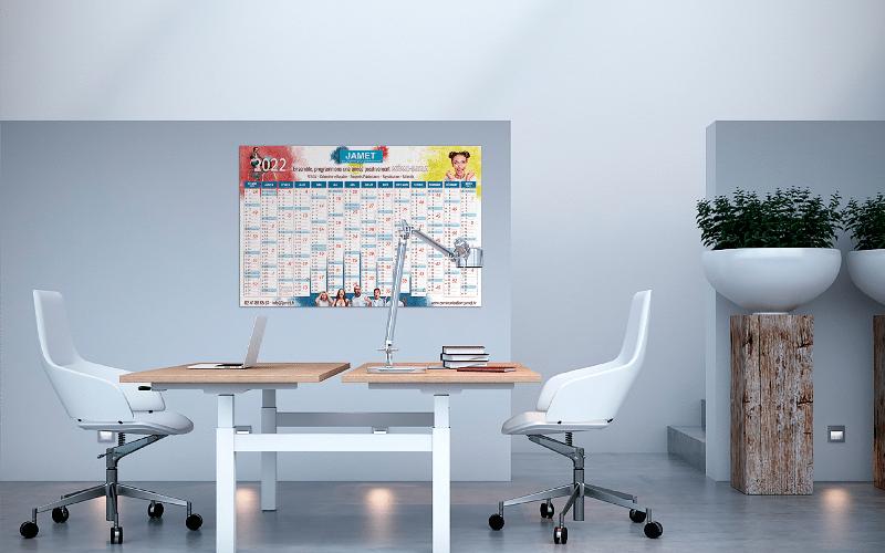 Jamet - imprimeur de calendrier effaçable